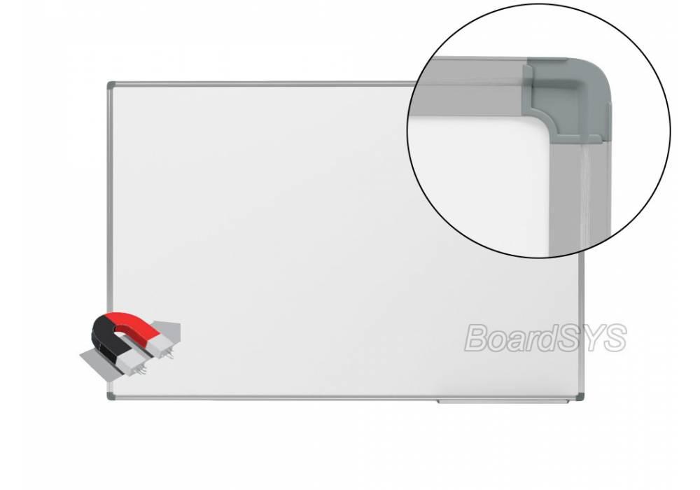 Одноэлементная магнитно-маркерная доска 120х200 - алюминиевый профиль