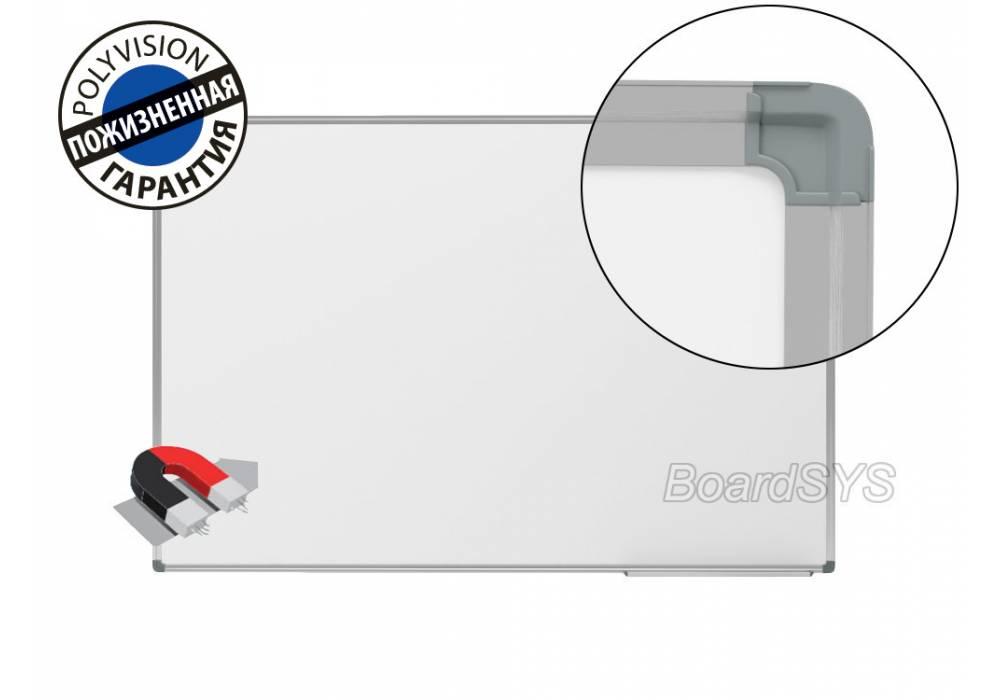 Одноэлементная магнитно-маркерная доска 100х150 с покрытием PolyVision
