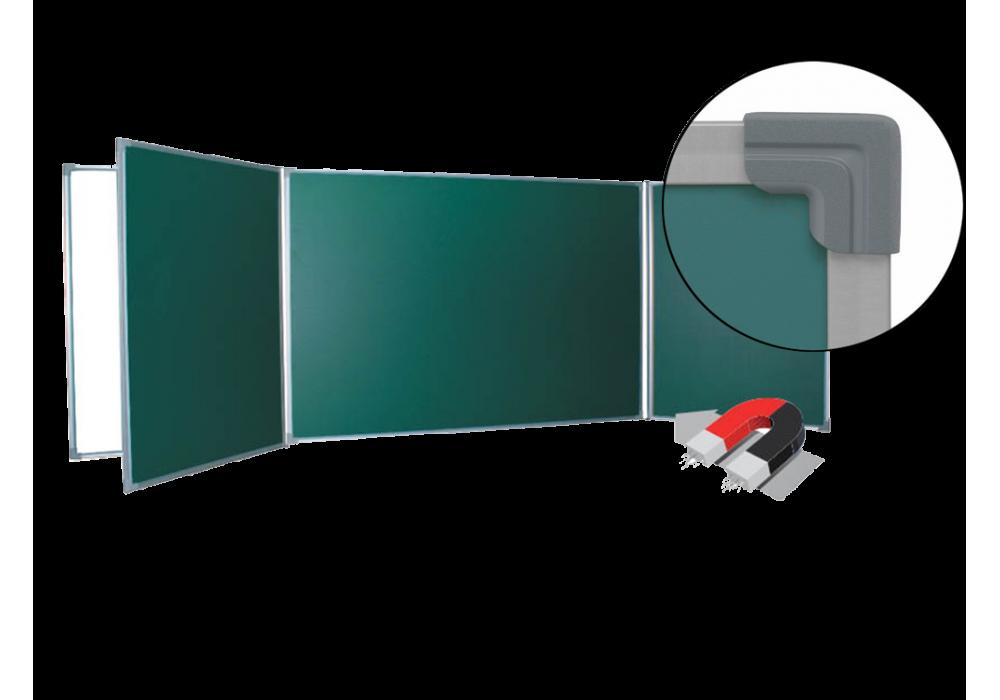 Пятиэлементная магнитно-комбинированная доска 120х300