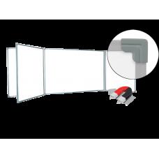 Пятиэлементная магнитно-маркерная доска 100х300