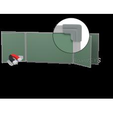Пятиэлементная магнитно-меловая доска 100х300