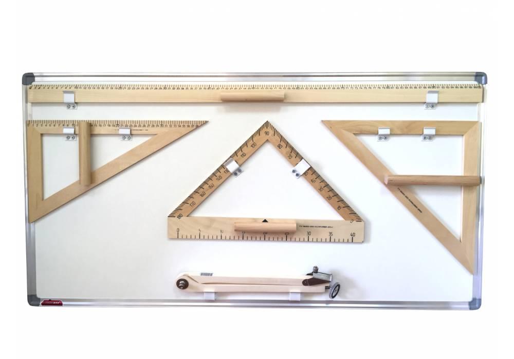 Чертежные инструменты КИК-ЭКО (деревянные)