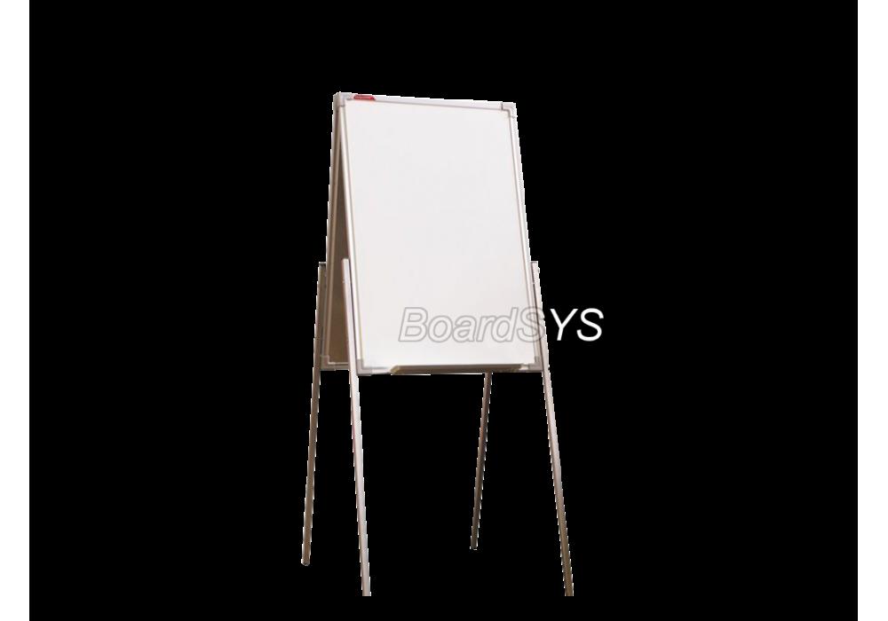 Мольберт домик двухсторонний маркерный 75х50 - металлический профиль