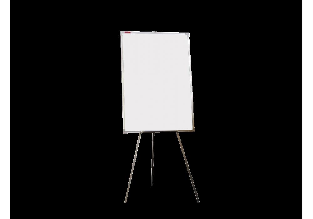 Мольберт тренога двухсторонний маркерный 100х70 - алюминиевый профиль