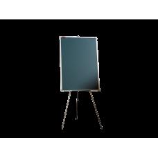 Мольберт тренога двухсторонний меловой 100х70 - металлический профиль