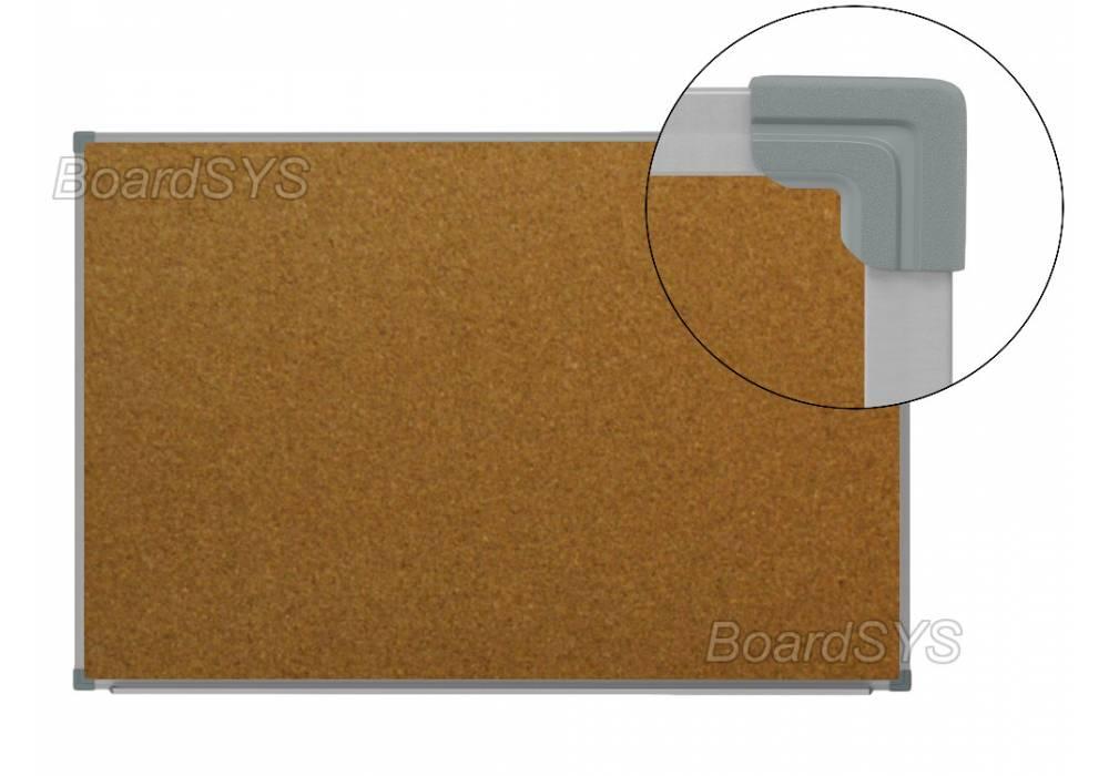 Пробковая доска 100х180 - металлический профиль