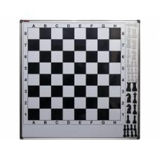 Шахматная настенная магнитная доска (с магнитными шахматными фигурами)